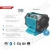 Kép 2/2 - Dedra SAS+ALL akkumulátoros bluetooth hangszóró 18V