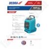 Kép 2/2 - Dedra SAS+all Bluetooth akkus rádió 18V