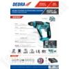 Kép 2/2 - Dedra akkumulátoros fúró kalapács SDS+ 18V 1,3J