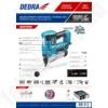Kép 2/2 - Dedra akkumulátoros szögbelövő, tűzőgép 18V 2in1
