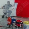 Kép 2/2 - Airless, festékfújó hidrodinamikus festő aggregátor 650W (légmentes), 1l/min, tomlo 7,5m, pisztoly 517