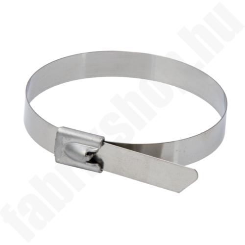 Rozsdamentes acél kábelkötegelő PE, 7.9x360mm, SS304, 20