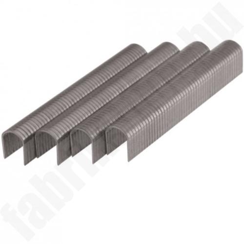 Huzal tűzőkapocs 10mm, 1000db, D11U, 1,2x7,6mm