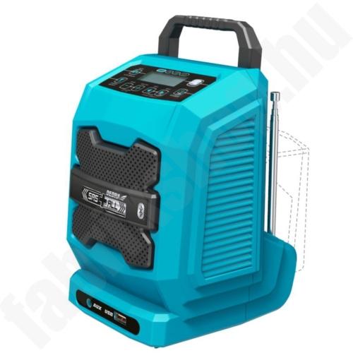 Dedra SAS+all Bluetooth akkus rádió 18V